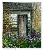 Iris By Barn Fleece Blanket