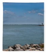 Island Time Fleece Blanket