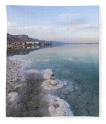 Israel Dead Sea Fleece Blanket