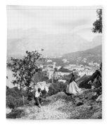 Italy Sorrento, C1869 Fleece Blanket