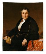 Jacques-louis Leblanc Fleece Blanket