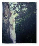 Jane Austen Fleece Blanket