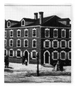 Jefferson's House, 1776 Fleece Blanket