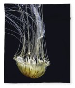 Jellyfish Of Aquarium Of The Bay San Francisco Fleece Blanket