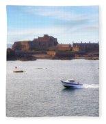 Jersey - Elizabeth Castle Fleece Blanket