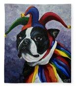 Jester II Fleece Blanket