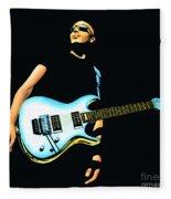Joe Satriani Painting Fleece Blanket