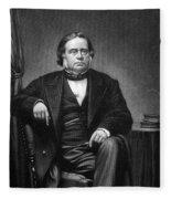 John Bright (1811-1889) Fleece Blanket