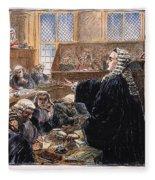 John Peter Zenger Trial Fleece Blanket