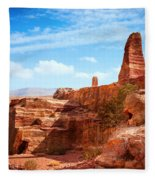 Jordanian Desert Fleece Blanket