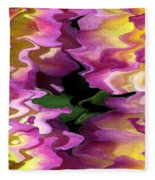 Jowey Gipsy Abstract Fleece Blanket