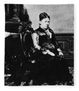 Julia Dent Grant (1826-1902) Fleece Blanket