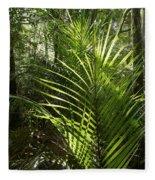 Jungle Ferns Fleece Blanket