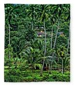Jungle Life Fleece Blanket