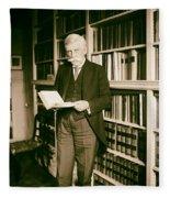 Justice Oliver Wendell Holmes 1924 Fleece Blanket