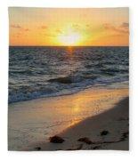Kamalame Beach Fleece Blanket