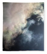 Kansas Storm On The Rise II Fleece Blanket