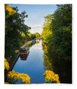 Kennet And Avon Canal Fleece Blanket