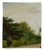 Kensington Gardens Fleece Blanket