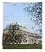 Kew Gardens London Fleece Blanket
