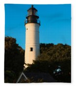 Key West Lighthouse Fleece Blanket