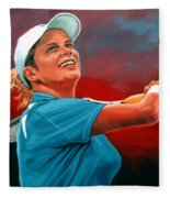 Kim Clijsters Fleece Blanket