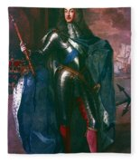 King James II Of England (1633-1701) Fleece Blanket