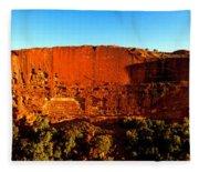 Kings Canyon  Fleece Blanket