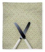 Knives Fleece Blanket