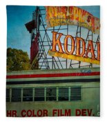 Kodak's Moment Fleece Blanket
