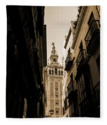 La Giralda - Seville Spain Fleece Blanket