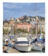 La Spezia Fleece Blanket