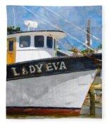Lady Eva Fleece Blanket