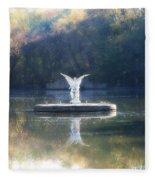 Lake Angel Fleece Blanket