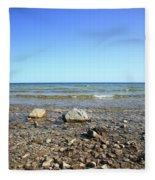 Lake Huron Fleece Blanket