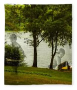 Lakeside Dreams Fleece Blanket