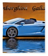 Lamborghini Gallardo Fleece Blanket