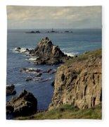 Seascape Lands End Fleece Blanket