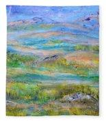 Landscape After Rassuman Fleece Blanket