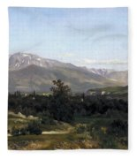 Landscape In Dauphine Fleece Blanket