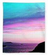 Landscape - Sunset Fleece Blanket