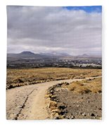 Lanzarote Fleece Blanket