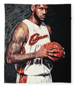 Lebron James Fleece Blanket