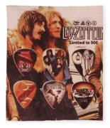 Led Zeppelin Art Fleece Blanket