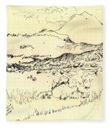 Lefka Ori Fleece Blanket
