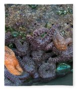 Life On The Rock Fleece Blanket