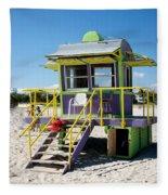 Lifeguard Station Fleece Blanket