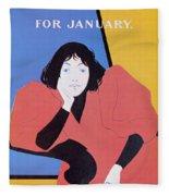 Lippincotts February 1895 Fleece Blanket