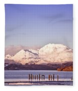 Loch Lomond 02 Fleece Blanket