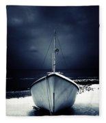 Loneliness Fleece Blanket